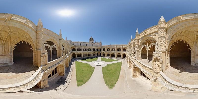 Mosteiro dos Jeronimos Cloister, Lisbon, Portugal