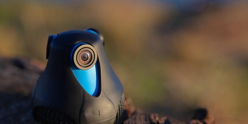 GIROPTIC 360cam - Close Up