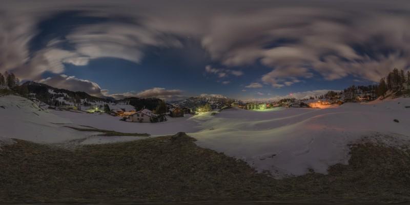 Swiss Alps Night