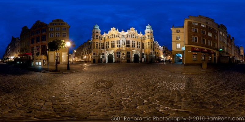 Gdansk Old City Panorama