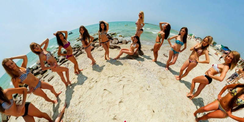 Miss Bikini. Kherson region. Ukraine