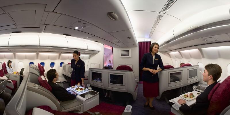 Qatar Airways Business Classs
