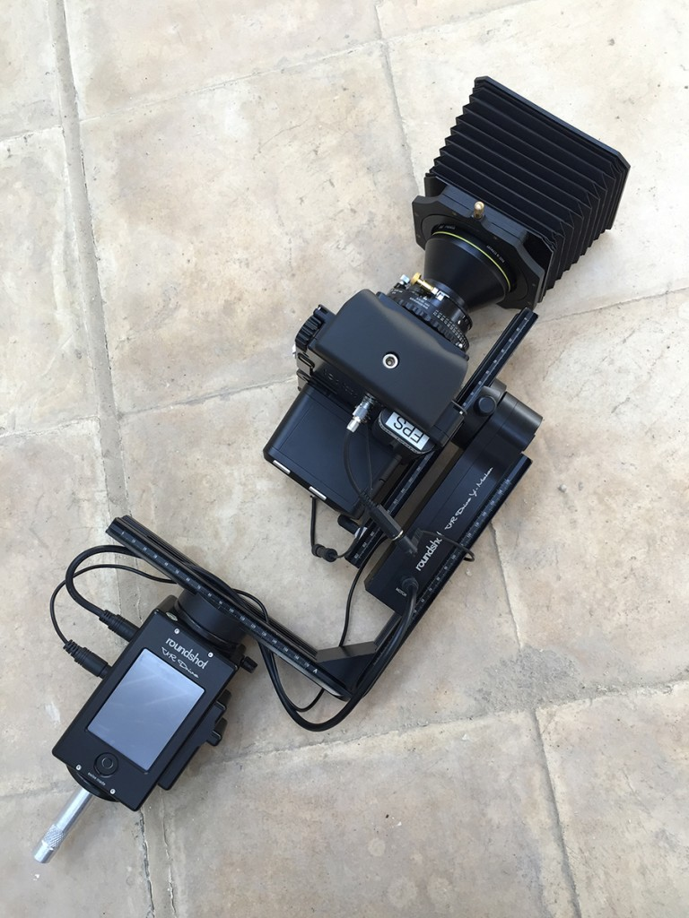 The Equipment To Shoot The 6 Gigapixel Panoramas