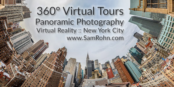 360° Virtual Tours, New York City logo