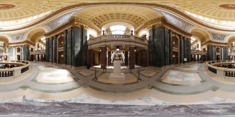 Wisconsin State Capitol 2nd Floor 360 Panorama