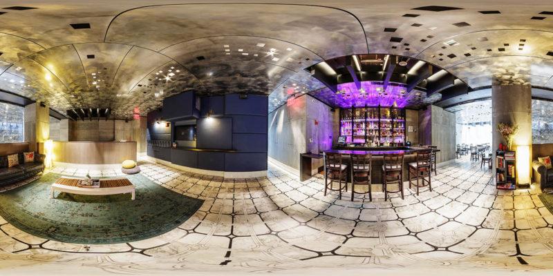 The Paul Bar Restaurant Panorama