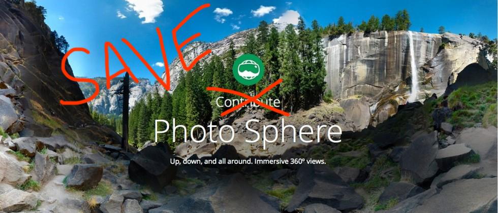 Save Google Photosphere