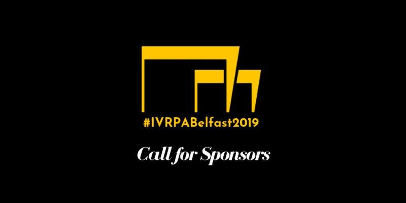 Belfast 2019 Call for Sponsors