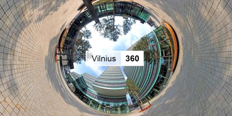 Vilnius 360 Video